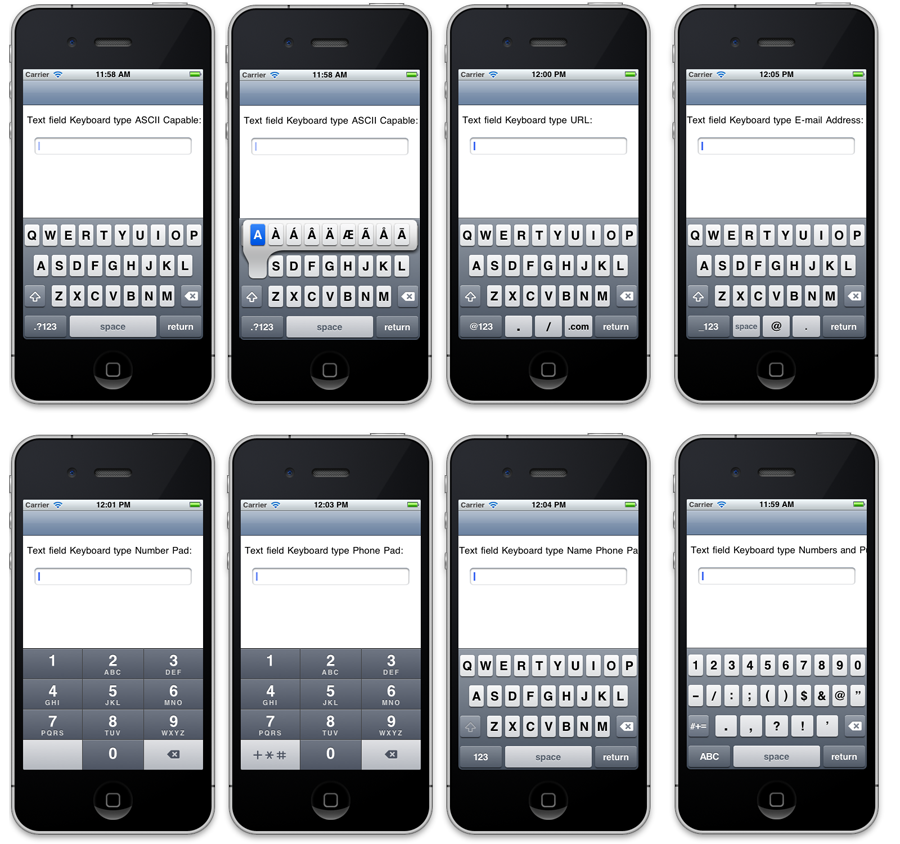 Returning with the iOS Keyboard –  NET Development Addict